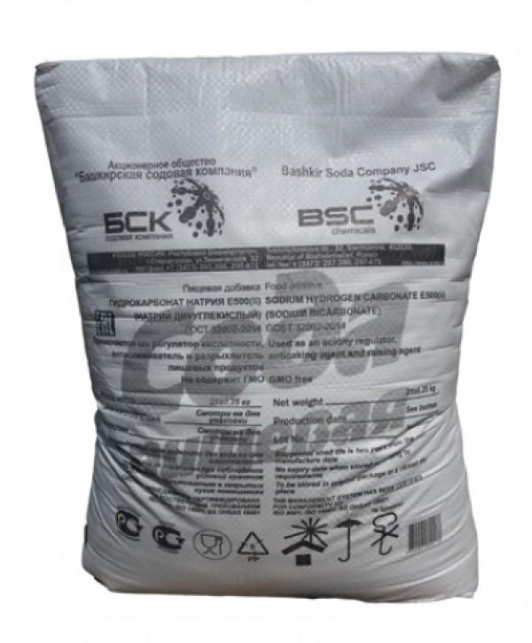 Сода пищевая (мешок  25 кг)