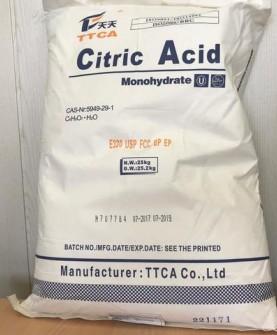 Лимонная кислота (Моногидрат) ТТСА (мешок 25кг)