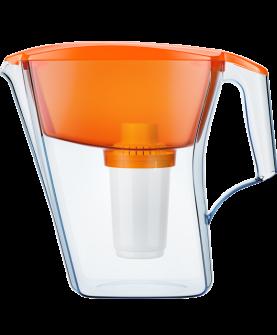 Водоочиститель Кувшин Аквафор АРТ (с В100-5)(оранжевый)