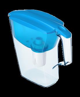 """Водоочиститель  """"Кувшин"""" модель  Аквафор Лайн(голубой)"""