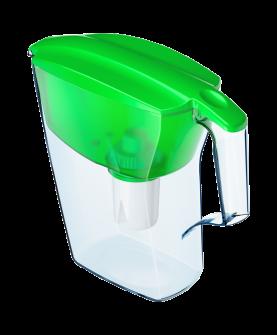 """Водоочиститель  """"Кувшин"""" модель  Аквафор Лайн(зеленый)"""