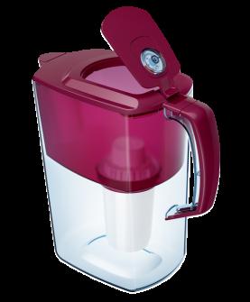 Водоочиститель Кувшин Аквафор Атлант модель Р85В05FM (рубиново-красный)