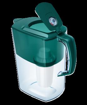 Водоочиститель Кувшин Аквафор Атлант модель Р85В05FM (тёмно-зелёный)