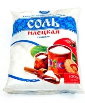 Соль 1-го помола в/с фас. 1 кг
