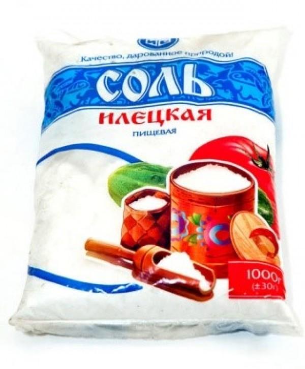 Соль 1-го помола в/с фас.по 1 кг - 20 кг